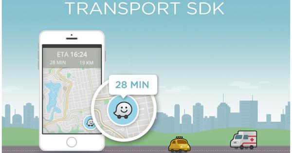 Waze выпустил SDK для разработчиков транспортных приложений