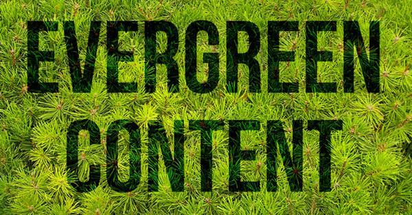 «Вечнозелёный» контент в помощь умирающему SEO