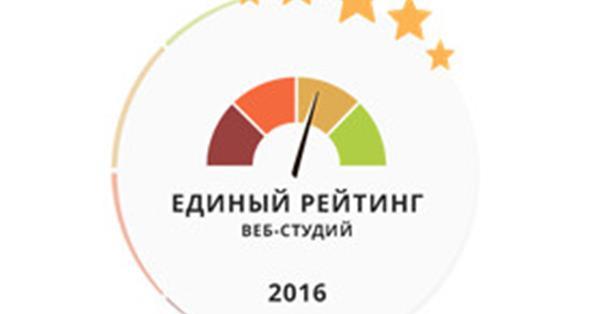 Объявлены результаты Единого Рейтинга веб-студий 2016