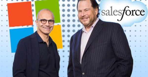 Компания Salesforce уступила Microsoft в борьбе за право приобрести LinkedIn