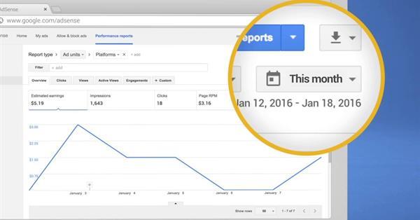 Google AdSense: как работать с отчётностью в сервисе