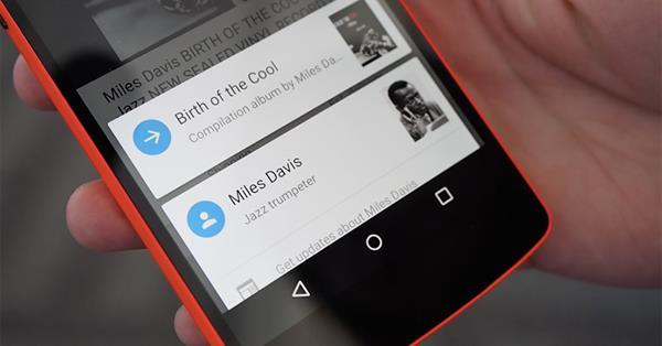 Google Now on Tap покажет больше информации о выбранном слове, фразе или фото