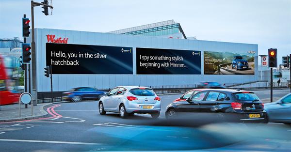 Автомобилистам покажут таргетированную рекламу на билбордах