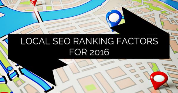 Основные факторы ранжирования в локальном поиске Google в 2016 году