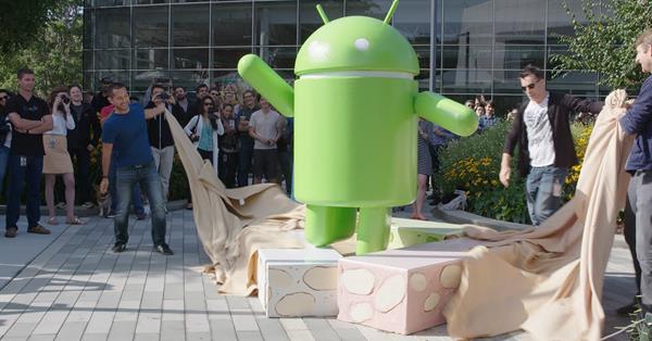 Официальное название Android N – Nougat
