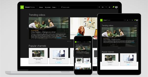 Microsoft представил видеохостинг для компаний Stream