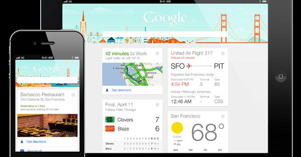 В Google Now появились дополнительные настройки персонализации