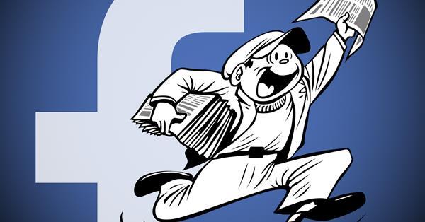 Facebook наймет журналистов для работы над своим новостным разделом