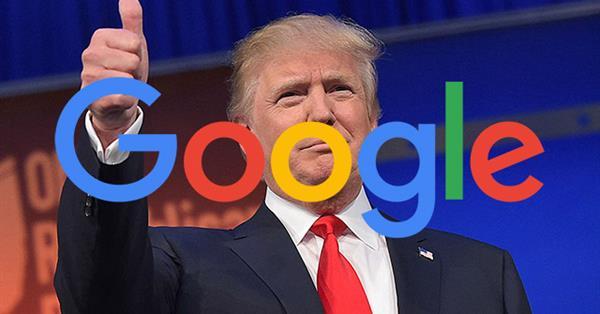 UPD: Google «исключил» Дональда Трампа из предвыборной гонки?