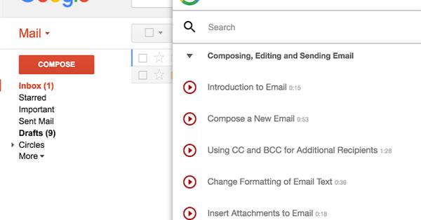 Google выпустил расширение для обучения работе с Google Apps