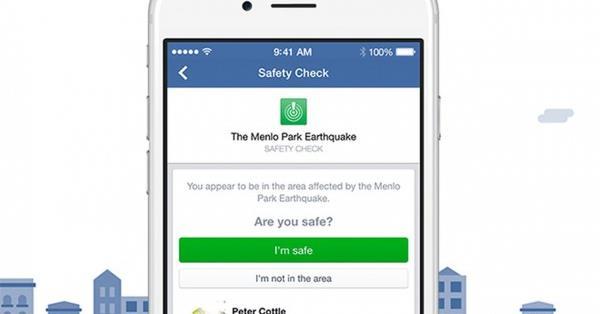 Facebook позволит активировать функцию Safety Check самостоятельно