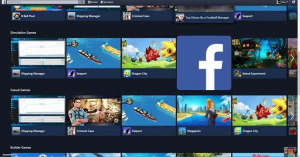 Facebook запускает собственную игровую платформу