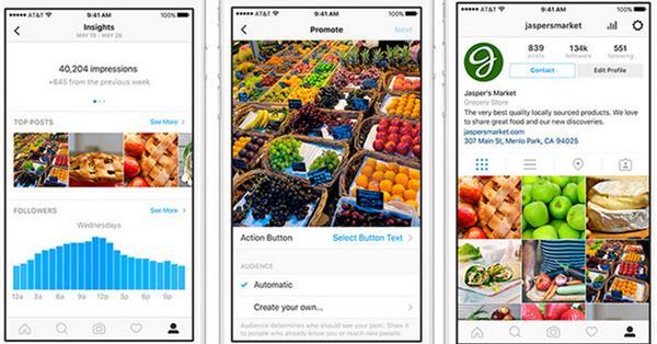 Instagram включил показ статистики для бизнес-профилей на территории России