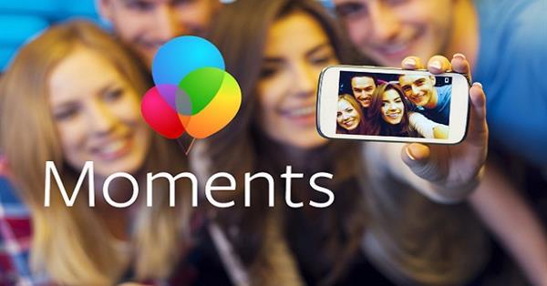 Facebook обновил приложение Moments