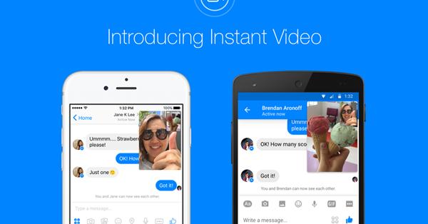 В Facebook Messenger появился функционал прямых трансляций