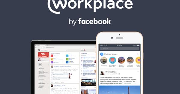 Facebook запустил сервис для корпоративного общения Workplace