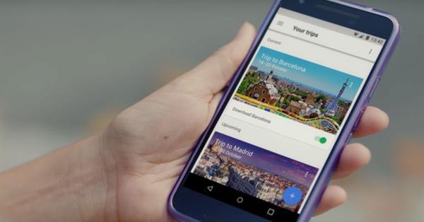 Google выпустил приложение для планирования поездок Google Trips