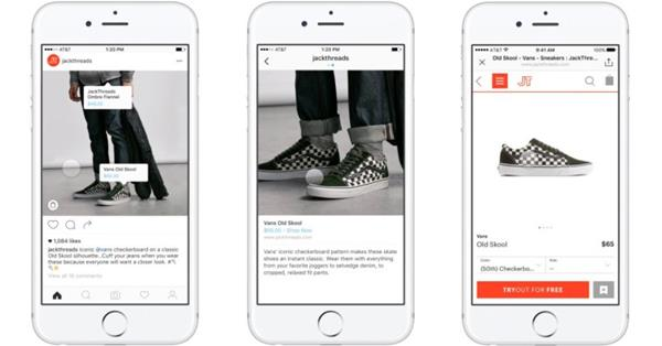 Instagram тестирует возможность покупки товаров, показанных на фото