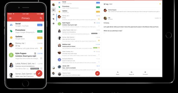 Google обновил дизайн Gmail для iOS