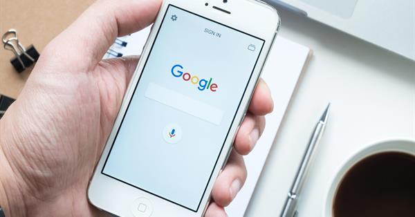 Google тестирует кнопку «Back to top» в мобильном поиске