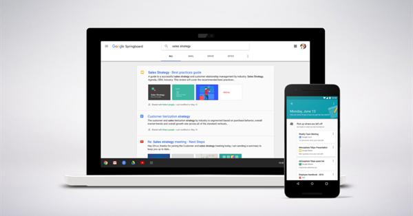 Google представил Cloud Search – поисковую систему для клиентов G Suite