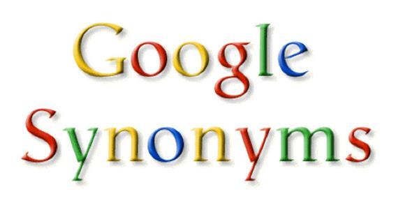 Синонимы в поисковой выдаче Google