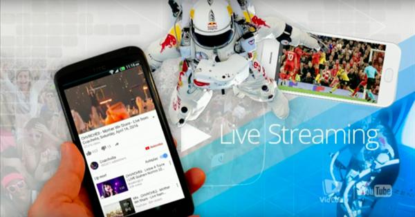 YouTube запускает мобильные трансляции