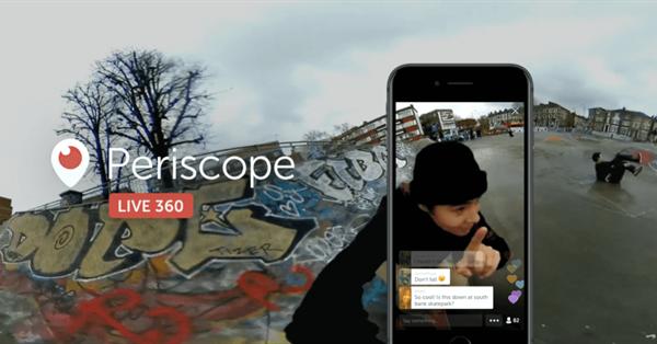 Twitter представил прямые трансляции в формате 360°