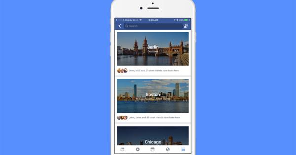 Facebook тестирует путеводитель по городам City Guides