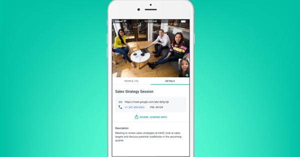 Google запустил корпоративный сервис видеоконференций Meet