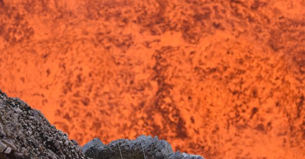 В Google Street View появились снимки внутри действующего вулкана
