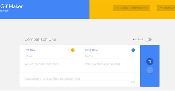 Google выпустил инструмент для визуализации данных в формате GIF