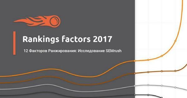 Факторы ранжирования Google в 2017