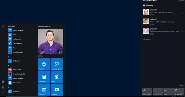 LinkedIn выпустил официальное приложение для Windows 10