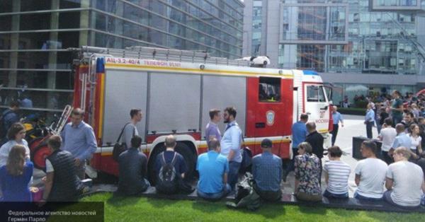 В московском офисе Яндекса произошел пожар