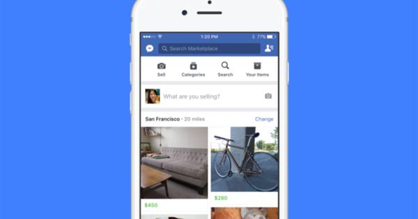 Facebook запустил Marketplace в 17 новых странах