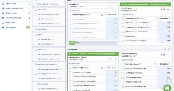 Новые инструменты кластеризации и текстовой аналитики от Serpstat
