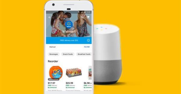 Google и Walmart объявили о партнёрстве в области e-commerce