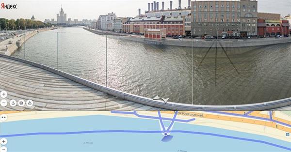 На Яндекс.Картах появились панорамы «Зарядья»
