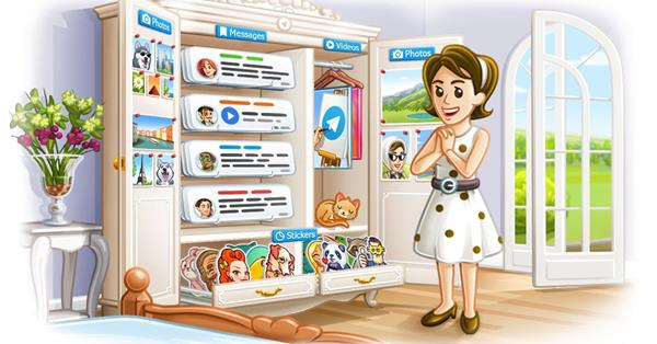 Telegram улучшил поиск по каналам и ботам в новой версии