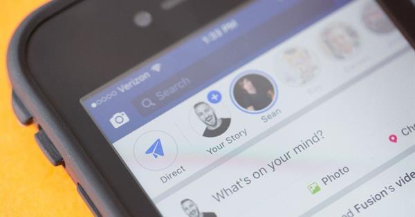Facebook запускает «истории» для публичных страниц