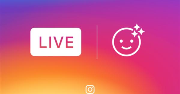 Instagram добавил фильтры-маски для прямых трансляций