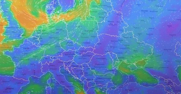 Яндекс покажет погодную карту всей планеты