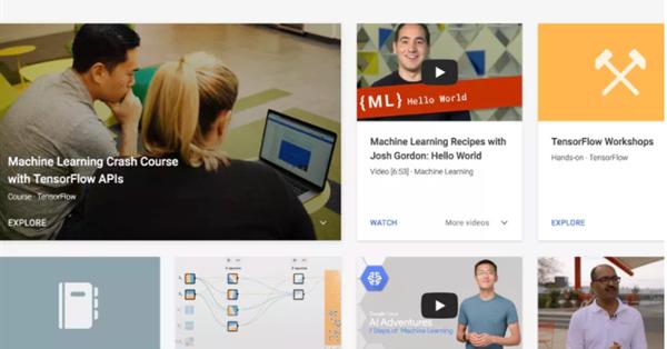 Google запустил информационно-обучающий портал по машинному обучению и ИИ