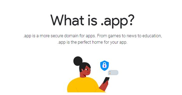 Google открывает домен .app для всех желающих