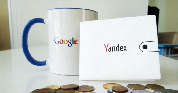 Google обошел Яндекс по темпу роста доходов в России