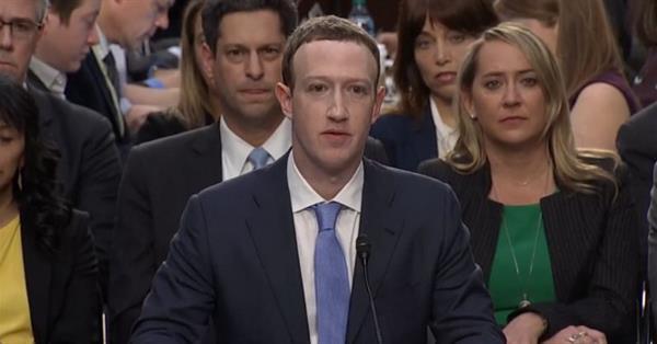 Марк Цукерберг разбогател на $2,7 млрд после слушаний в Сенате США