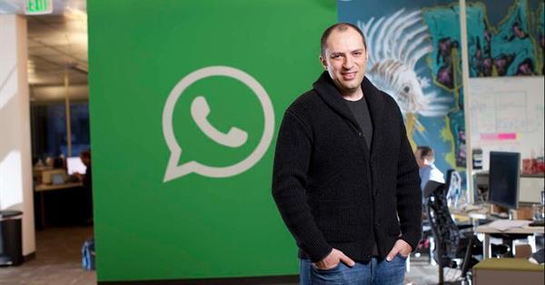 Глава WhatsApp Ян Кум уходит из Facebook