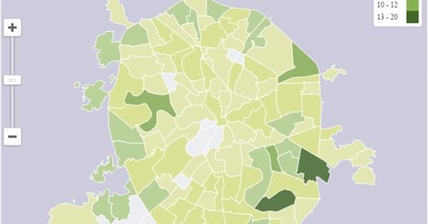 В API Яндекс.Карт появился модуль для региональной инфографики