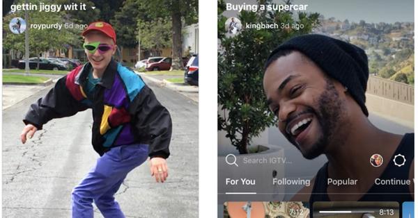 Instagram запускает приложение для просмотра видео длиною до 60 мин